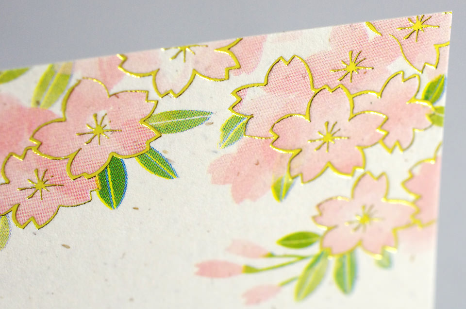 Cherry blossoms design