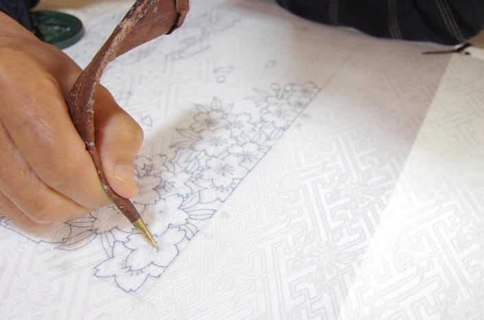 Glue contouring for iPad bags