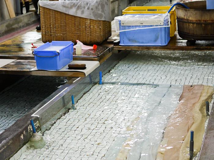 A washing pool