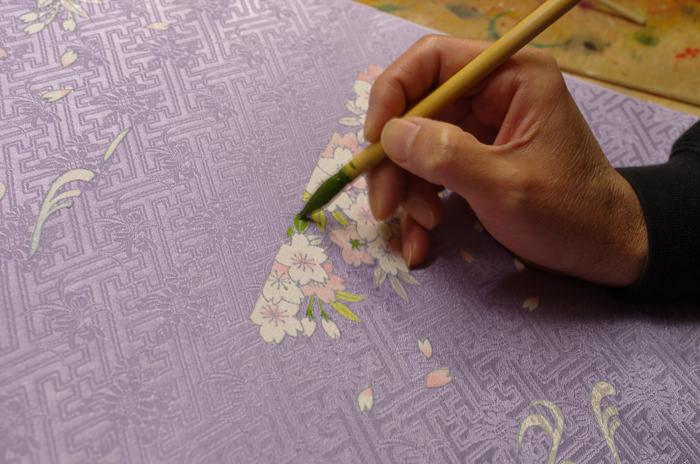彩色筆を使う