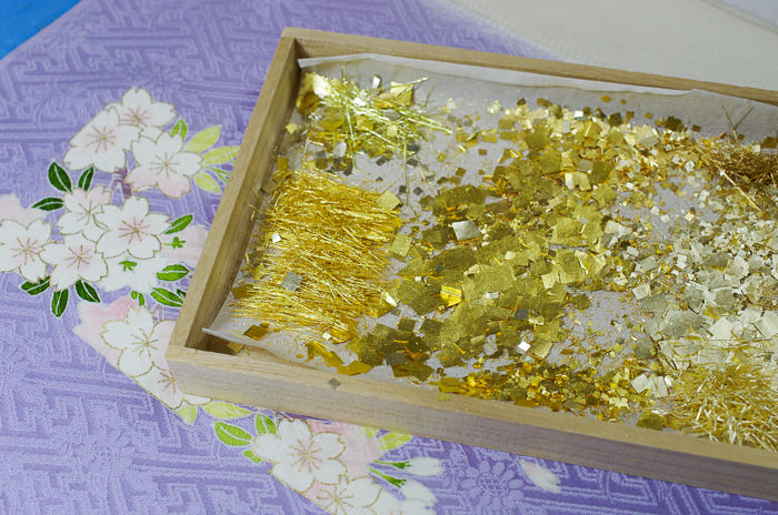 gold placing